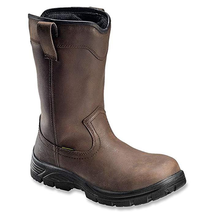 Avenger Men's Waterproof Wellington Work Boot Round Toe - A7646