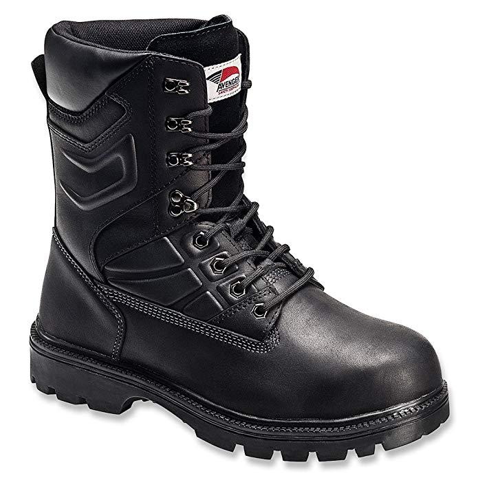 Avenger Men's Internal Metguard Work Boot Steel Toe - A7310