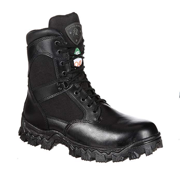 Rocky FQ0006269 Mens AlphaForce Composite Toe Puncture-Resistant Boot